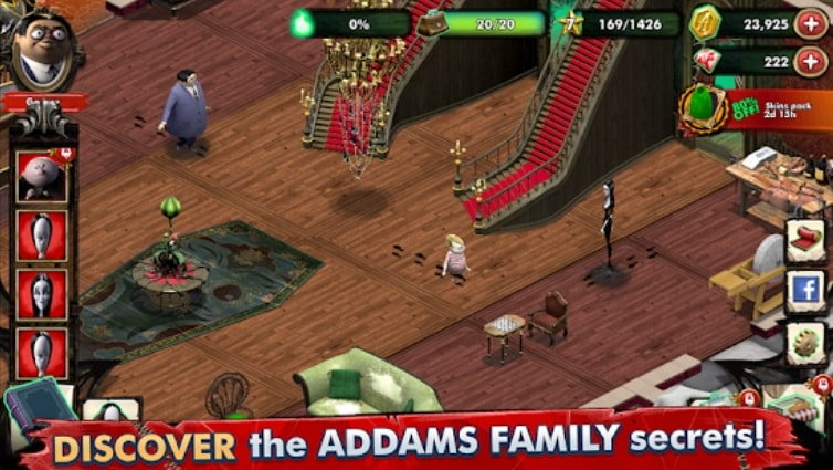 The Addams Family - Mystery Mansion читы