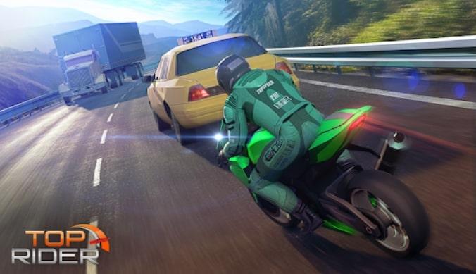 Top Rider: Bike Race & Real Traffic взлом