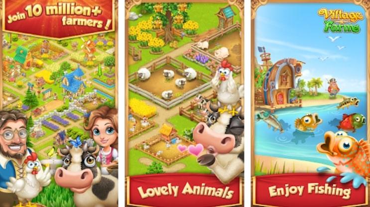 Village and Farm коды