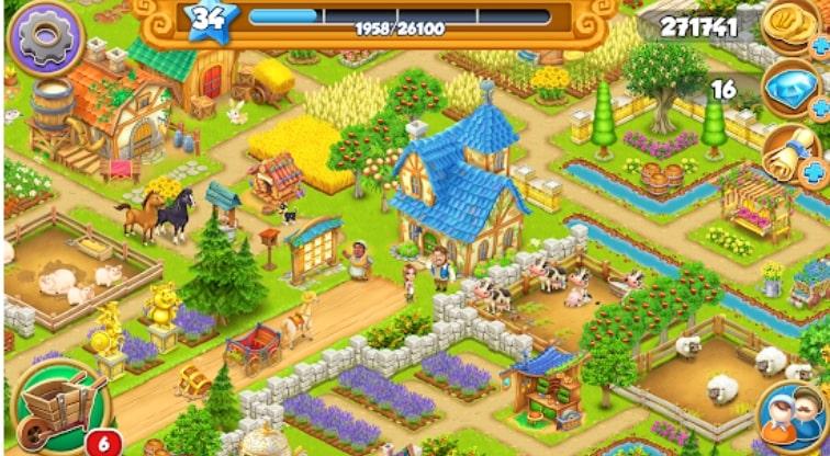 Village and Farm взлом