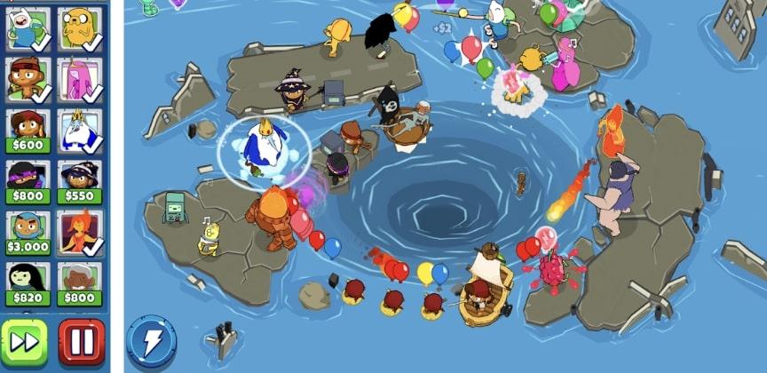 Bloons Adventure Time TD взлом