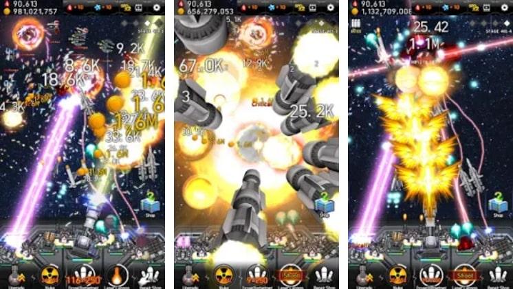 Galaxy Missile War взлом
