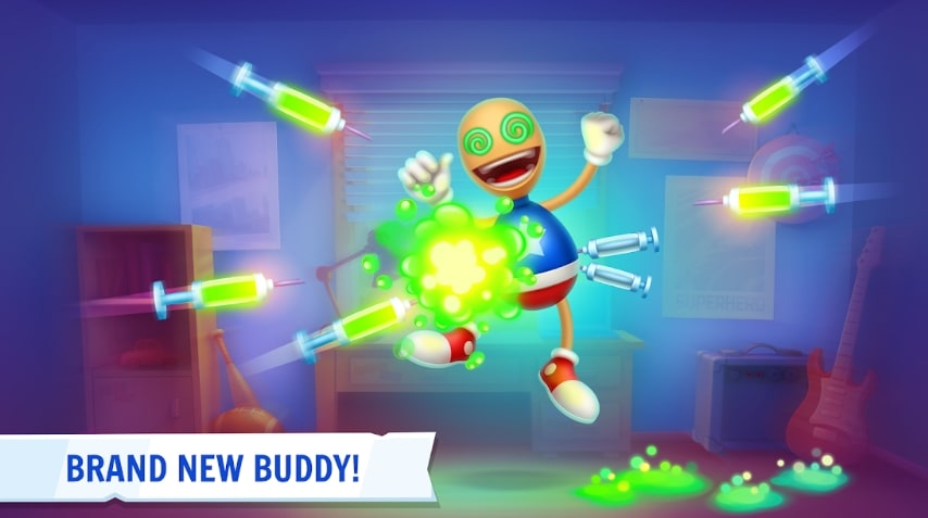 Kick the Buddy 3D коды