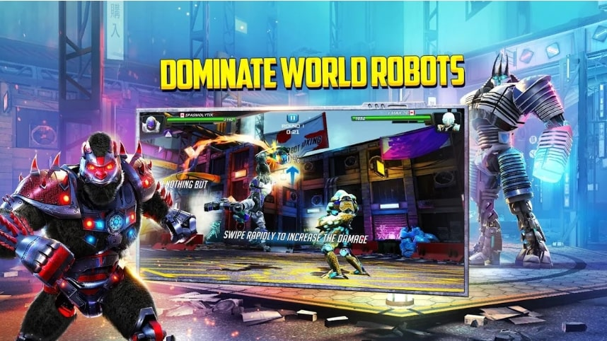 World Robot Boxing 2 читы