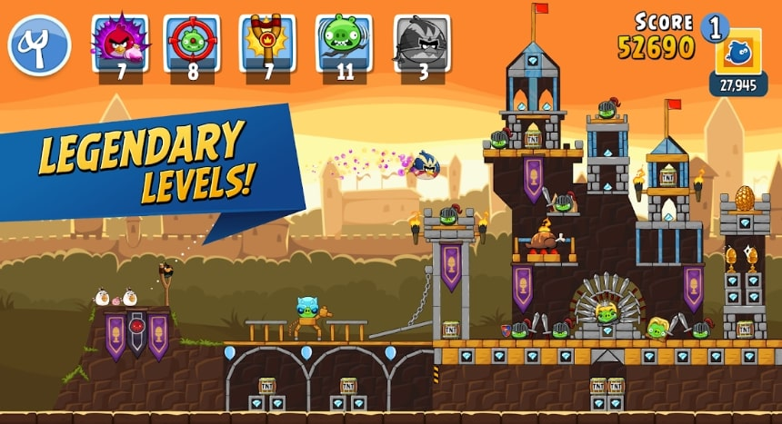 Angry Birds Friends читы