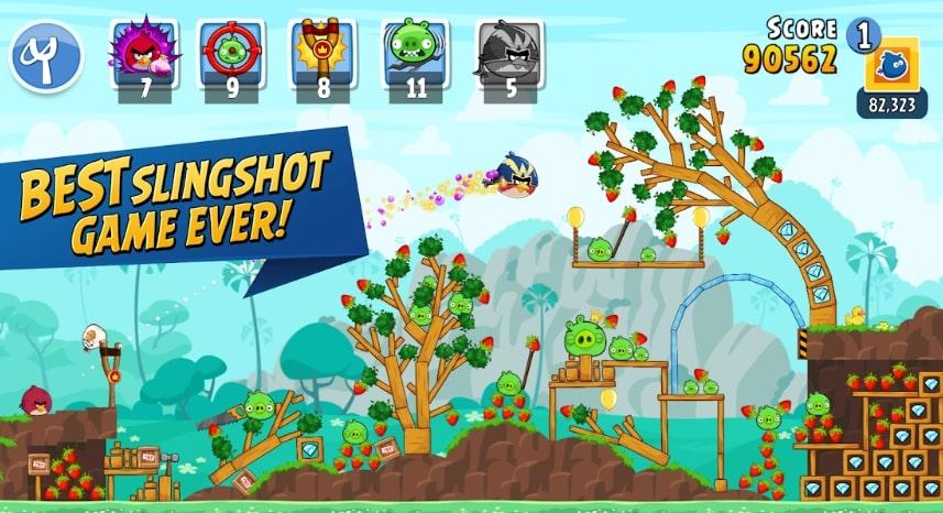 Angry Birds Friends коды