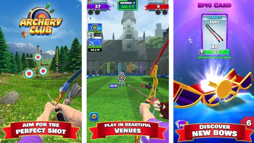 Archery Club: PvP Multiplayer взлом