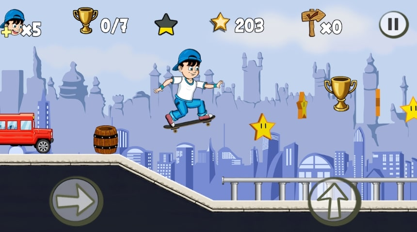 Skater Kid взлом