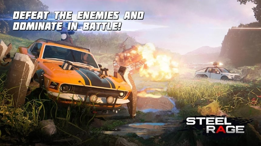 Steel Rage: Robot Cars коды