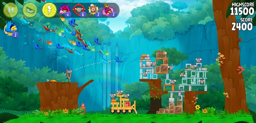 Angry Birds Rio читы
