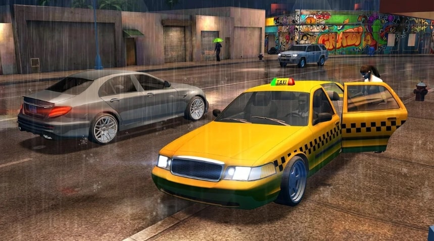 Taxi Sim 2020 взлом