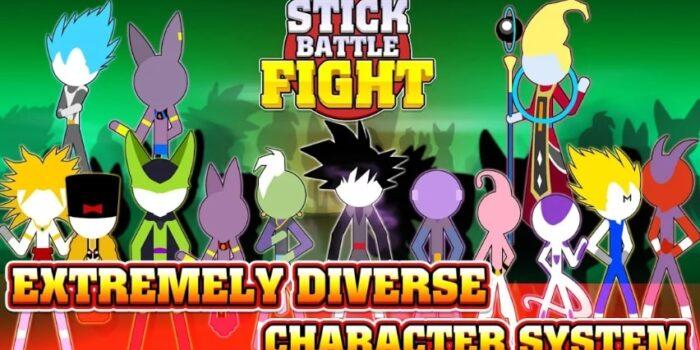 Stick Battle Fight взлом