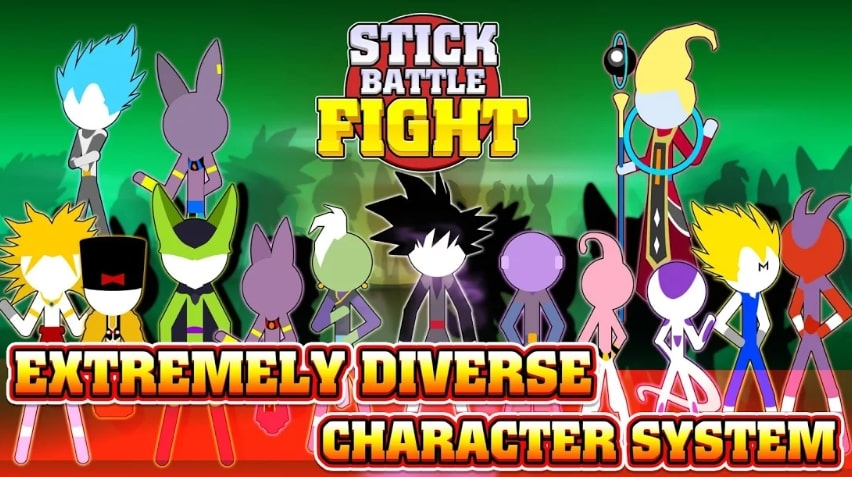 Stick Battle Fight взлом