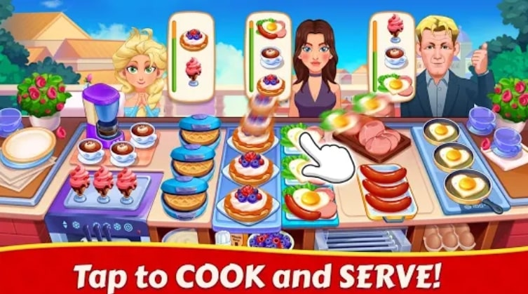 Cooking Family :Craze Madness читы