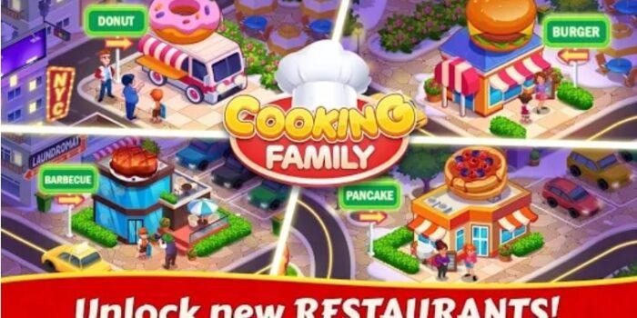 Cooking Family :Craze Madness взлом