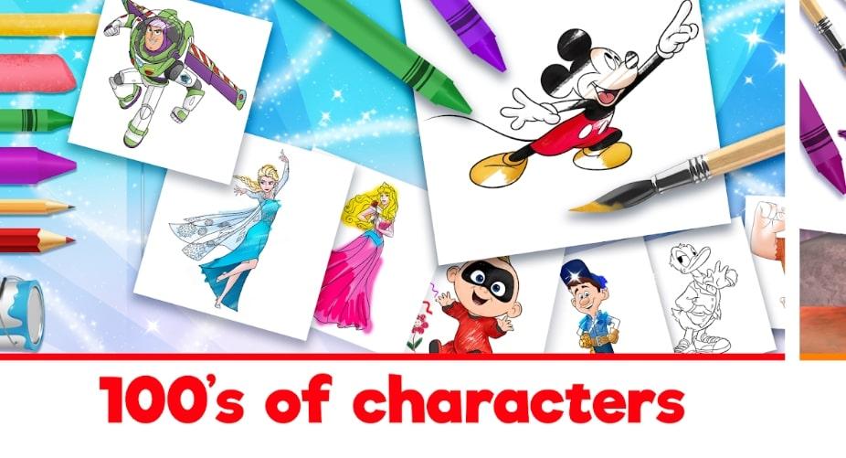 Disney Coloring World читы