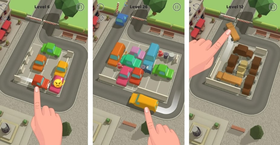 Parking Jam 3D читы