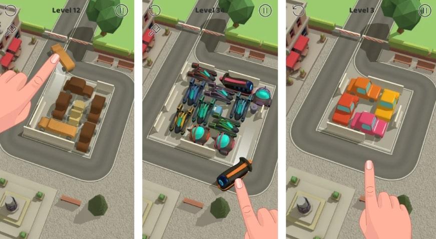 Parking Jam 3D коды