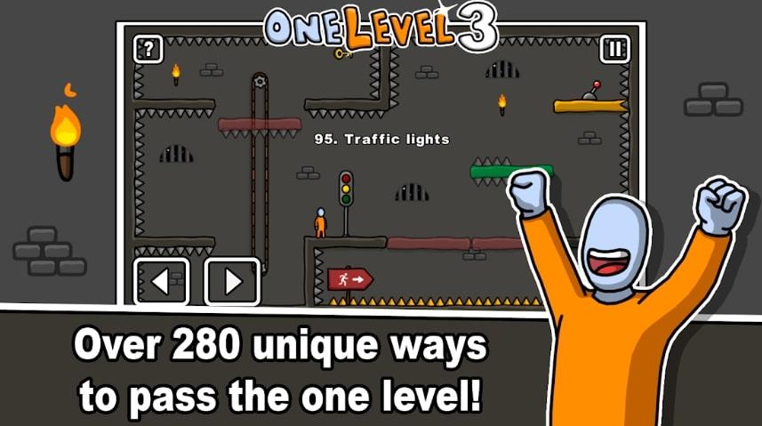 One Level 3: Stickman Jailbreak бесплатно