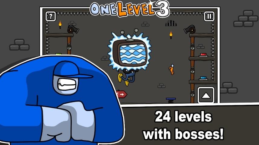 One Level 3: Stickman Jailbreak читы