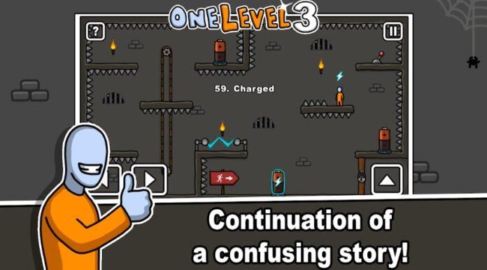 One Level 3: Stickman Jailbreak взлом
