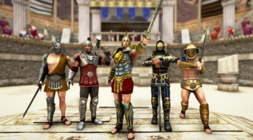 Gladiator Glory взлом